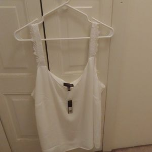 White Limited Tank Top